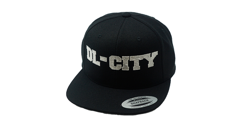 DL-City Snapback Black
