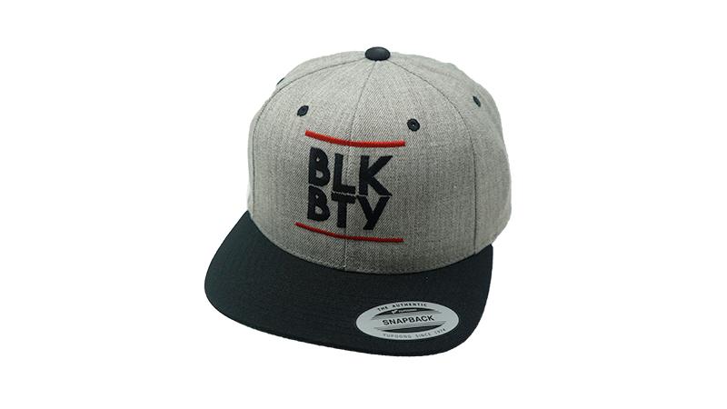 BLK BTY Snapback Grey