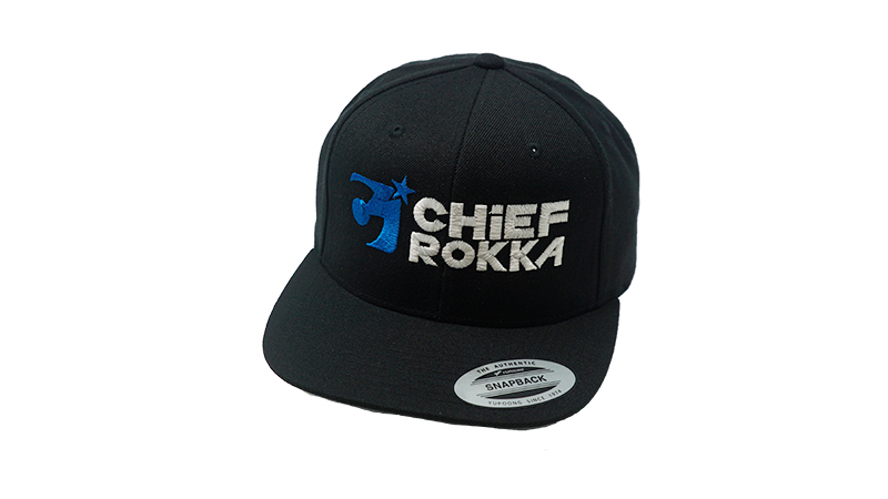 Chiefrokka Snapback Black